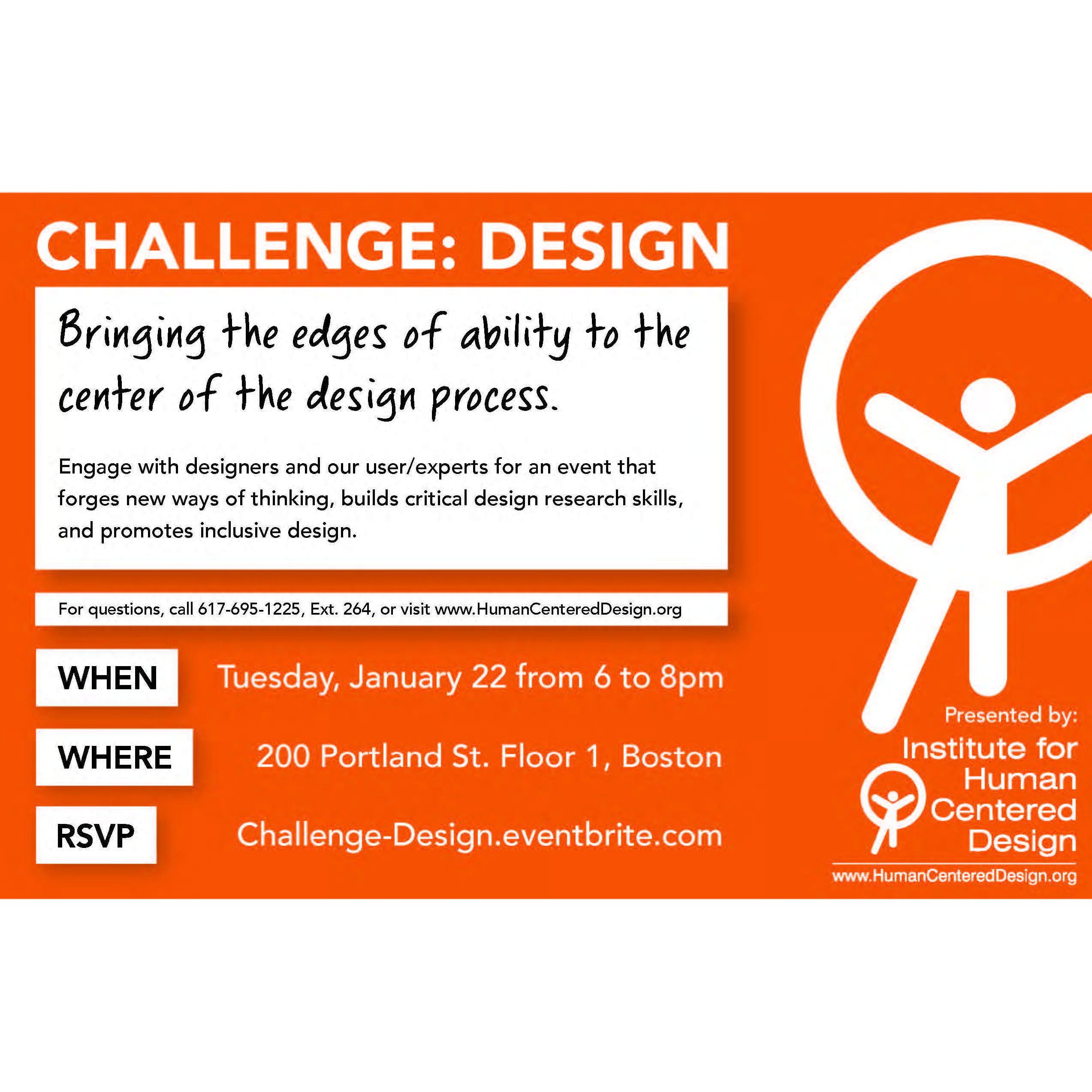 Challenge: Design Poster