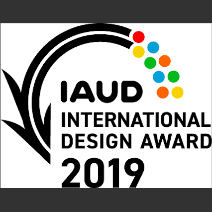 International Association for Universal Design's International Design Award 2019 Logo
