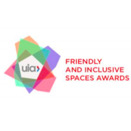 International Union of Architects' Friendly and Inclusive Spaces Awards Logo