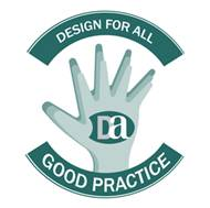 Design for All Good Practice Logo