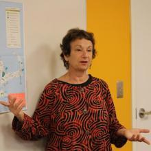 Kathy Gips, Director of Training at the NE ADA Center/ Institute for Human Centered Design