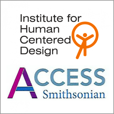 IHCD logo at the top; Access Smithsonian Logo below it